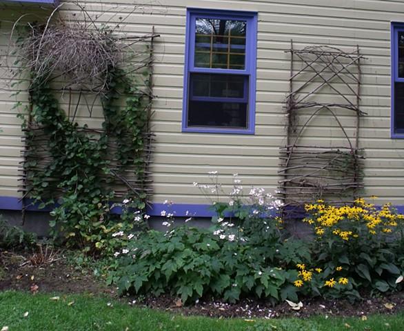 Pair Garden Trellis