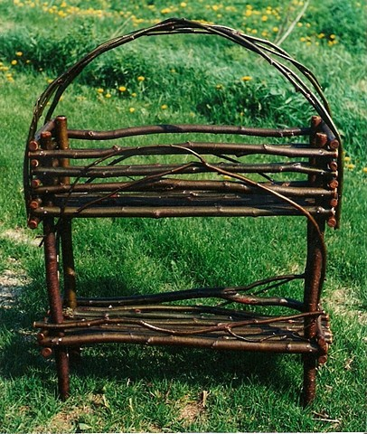 Rustic Plant Stand Workshop. $95