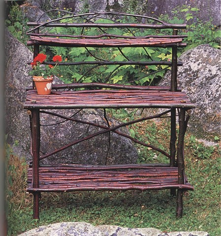 Alder Garden Potting Bench