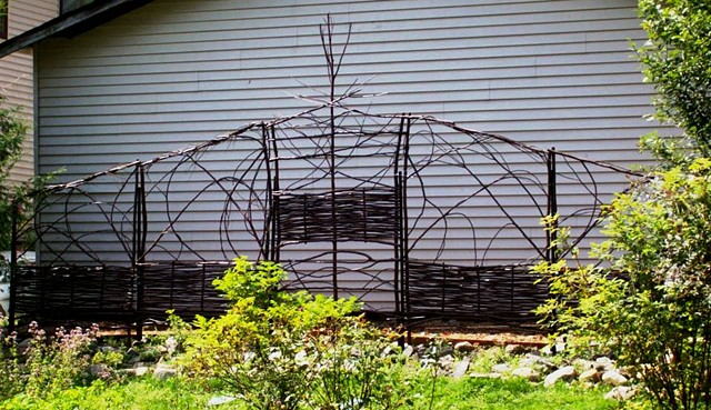 Twig wall Trellis