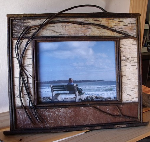 Birch Bark & Twig 15x13 Picture Frames