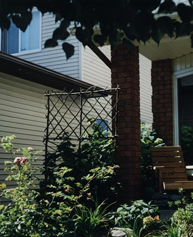 Garden Privacy Trellis