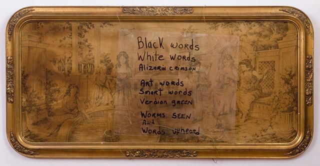"""FOUND """"Art Words"""""""