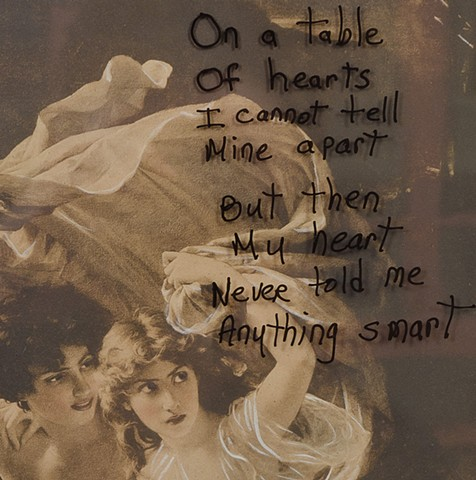"FOUND ""On a Table of Hearts..."" Detail"
