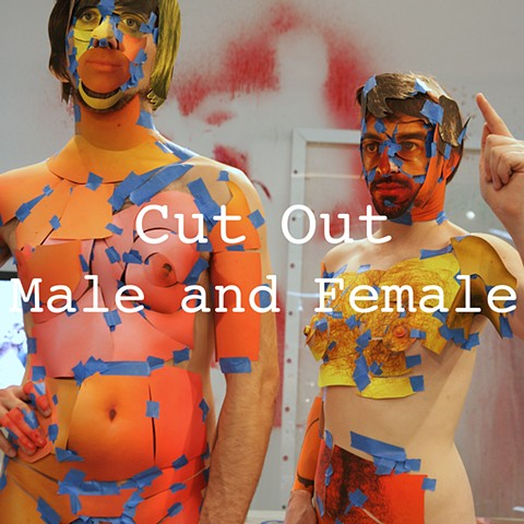 Cut Out: Male and Female
