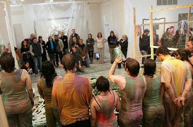 Areas for Action - Day 17: Color Spit Group  Meulensteen Gallery, New York, NY