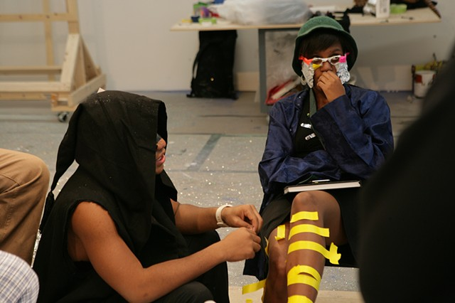 Areas for Action - Day 12: Teens with Masks: Q&A  Meulensteen Gallery, New York, NY