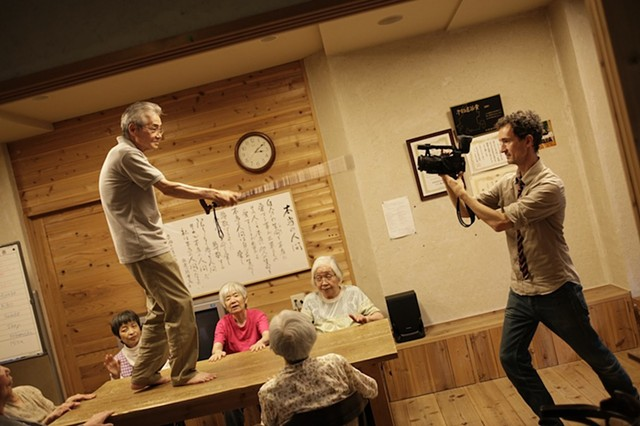 Seniors: Center Stage  Filming in progress Gojikara Village, Nagoya, Japan