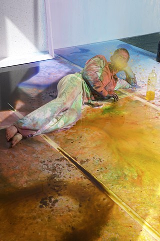 Areas For Action - Day 1: Color Spit Solo Meulensteen Gallery, New York, NY
