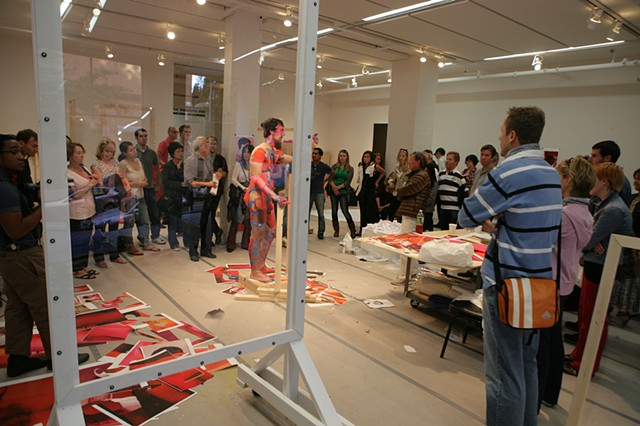 Areas for Action - Day 3: Cut Out Male  Meulensteen Gallery, New York, NY