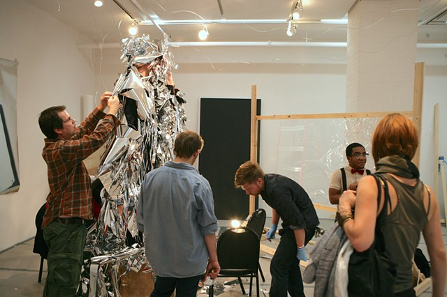 Areas for Action - Day 4: Mylar Duet  Meulensteen Gallery, New York, NY