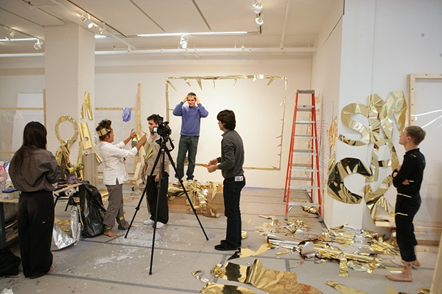 Areas for Action - Day 9: Mylar Group  Meulensteen Gallery, New York, NY