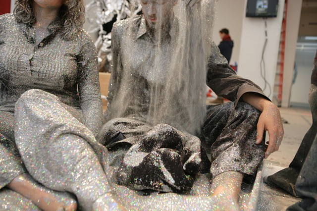 Areas for Action - Day 10: Glitter   Meulensteen Gallery, New York, NY