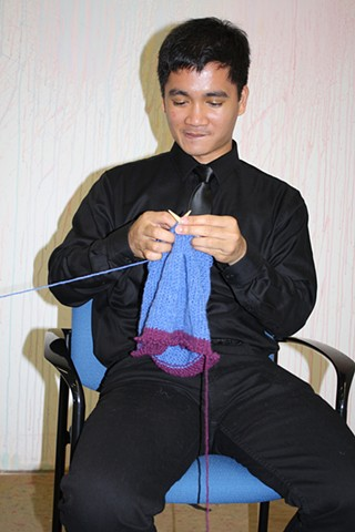 Knitting  DiverseWorks, Houston, Texas
