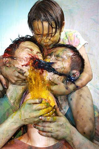 Areas for Action - Bank: Color Spit Quartet  Bank, Shanghai, China