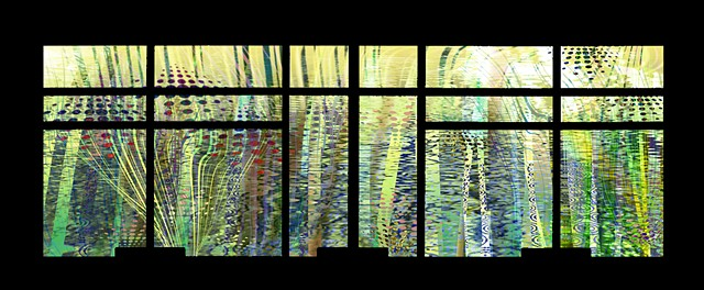 Public art window Installation for Harborview Medical Center
