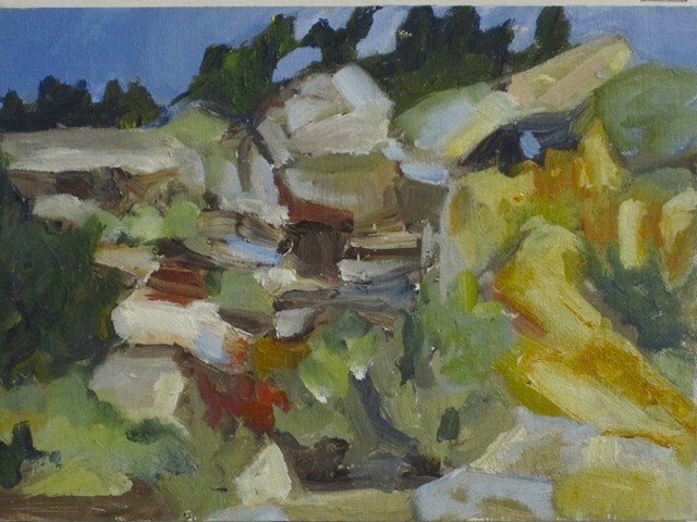 Brush Creek series,hillside #6