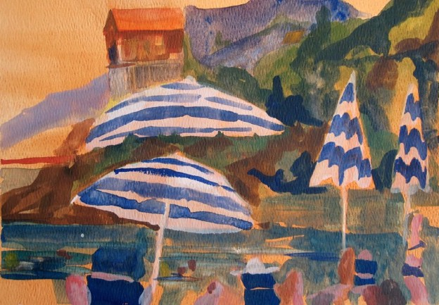Amalfi Coast beach series #2