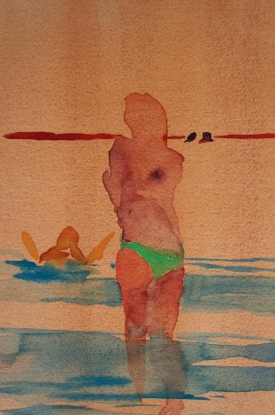 Amalfi Coast Swimmers #2