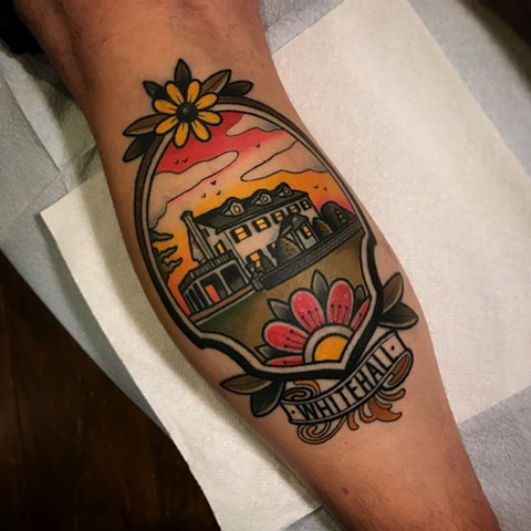 house tattoo by dave wah