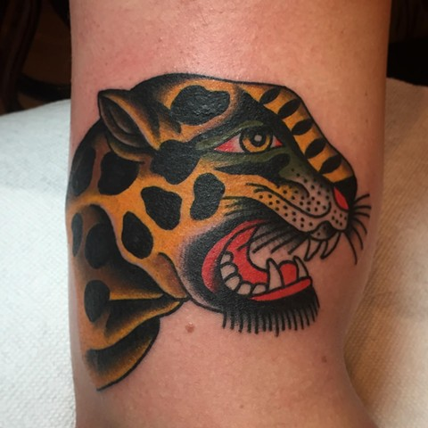 Japanese Tattoo Baltimore Maryland Virginia New York Traditional Custom Traditional tiger