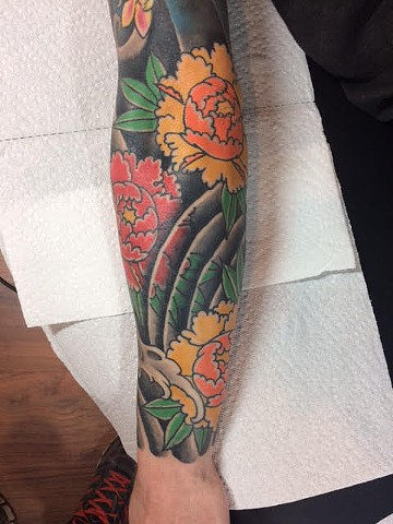 Japanese Tattoo Baltimore Maryland Virginia New York Traditional Custom