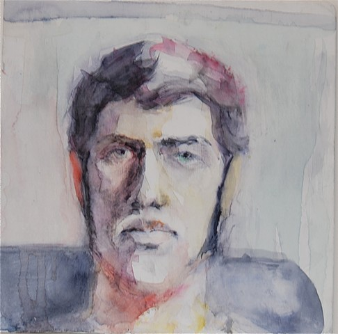 Self Portrait in Contrasting Light #1 (Sold)