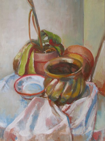 Still Life with Brass Vase (Sold)