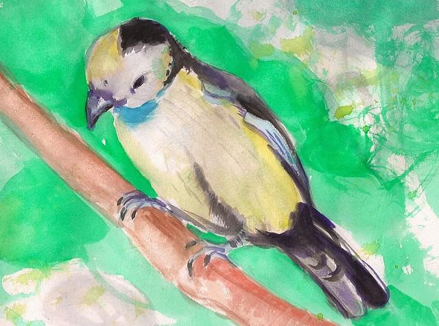 Bird Study (Sold)