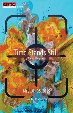 """Time Stands Still"" poster design"