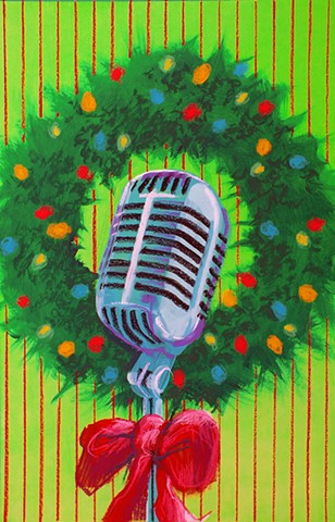 """A 1940's Radio Christmas Carol"" poster - Swift Creek Mill Theatre"