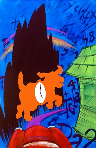 """The Phantom Tollbooth"" poster"