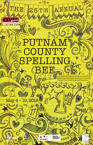 The 25th Annual Putnam County Spelling Bee (poster)