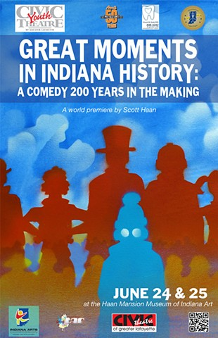 Great Moments in Indiana History (poster)
