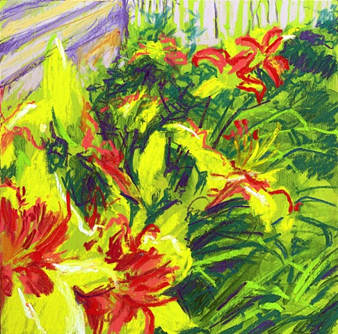 """Sick Day Lilies"""