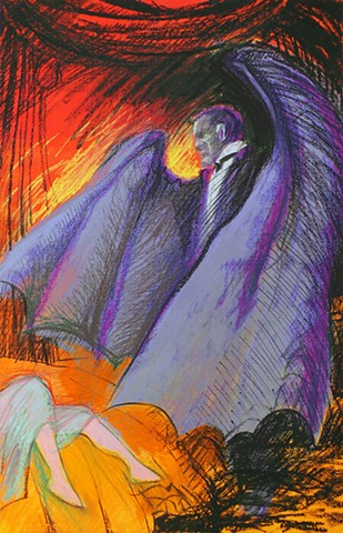 """Count Dracula"" poster - Swift Creek Mill Theatre"