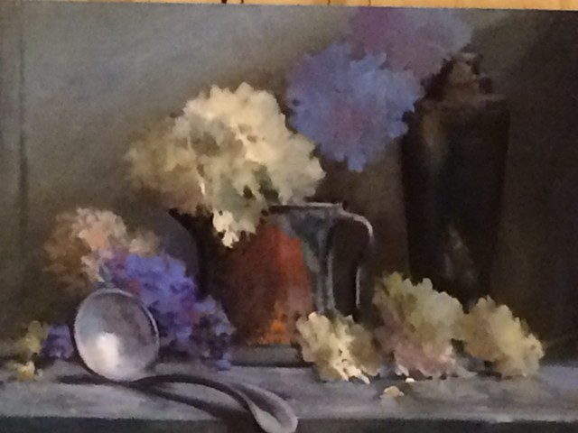 Hydrangea and Copper