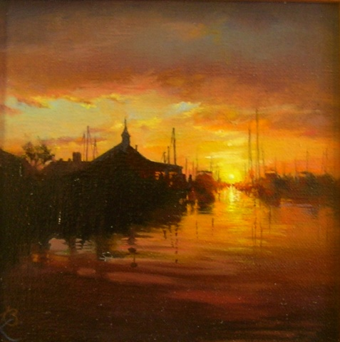 Sunrise at the Wharf