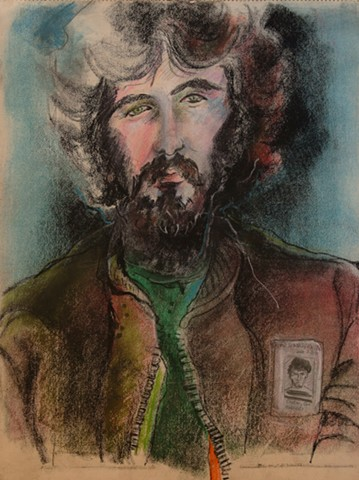 portrait of Gil Elniton, 1980