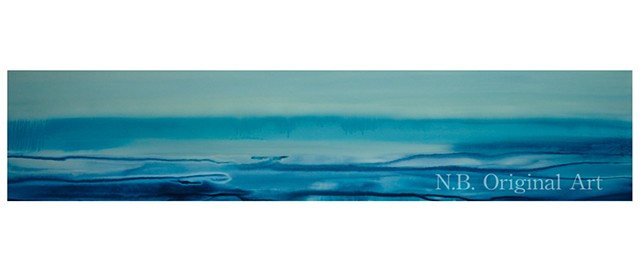 Kelowna Abstract Art Nikki Balfour painting Canadian