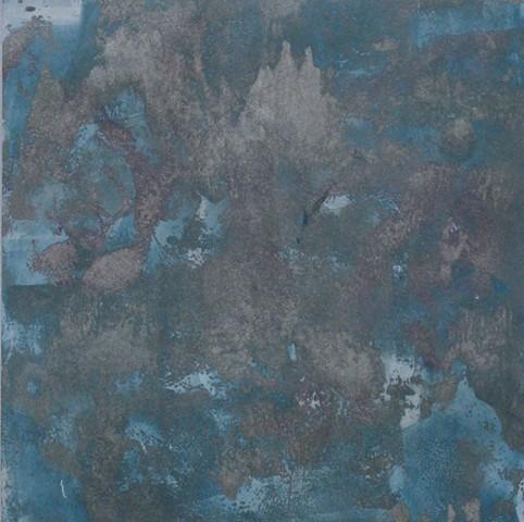 "Assisi Monoprint 10"" x 10"""