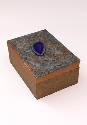 Purple Agate 5x7x3""