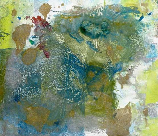 Maybel Monoprint 10'' x 10''