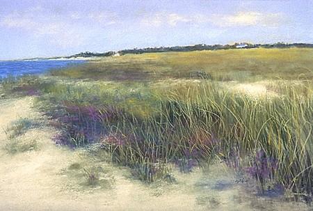 "South Shore Beach Pastel 20.5"" x 33.25"""