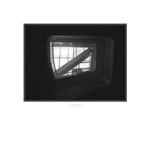 Architectural Digital Fine Art Photographs in black and white prints