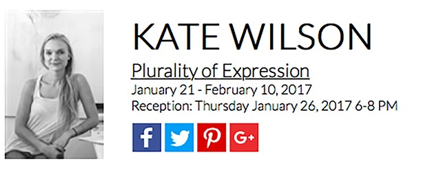 """Plurality Of Expression"" - Agora Gallery, January 2017"