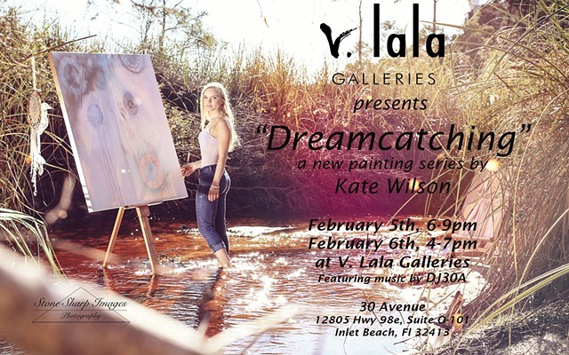 "Past Exhibitions: ""Dreamcatching"", Solo exhibition at V. Lala Galleries, Feb. 5, 2016"