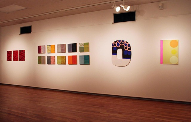 Installation view of Flirt with Space, University of Central Missouri, 2009