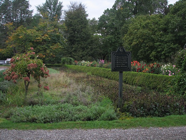 Garden Plots from Locust Grove Historic Estate and Nature Preserve