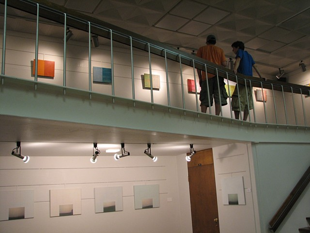 Installation view 2-D or not 2-D? Willard Wankelman Gallery, Bowling Green State University